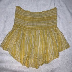 Nordstrom Yellow Tube Top